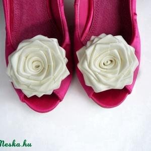 Esküvői cipőklipsz (gemma) - Meska.hu
