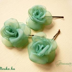 Mini rózsa-szett - piros (gemma) - Meska.hu
