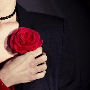 Piros rózsa (gemma) - Meska.hu