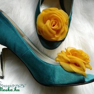 Napsárga cipőklipsz (gemma) - Meska.hu