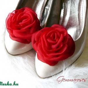 Flamenco cipőklipsz (gemma) - Meska.hu