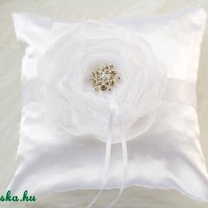 Gyűrűpárna strasszal (gemma) - Meska.hu