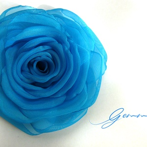 Nefelejcs rózsa  (gemma) - Meska.hu