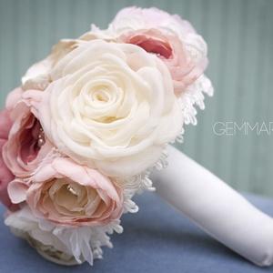 Rusztikus rózsacsokor  (gemma) - Meska.hu