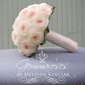 Nosztalgia rózsacsokor  (gemma) - Meska.hu