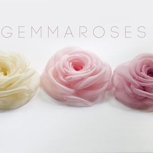 Romantikus  rózsa -szett(3db) (gemma) - Meska.hu