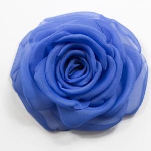 Kék rózsa - kitűző/hajcsat (gemma) - Meska.hu