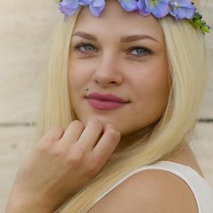 Virágkoszorú -liláskék (gemma) - Meska.hu