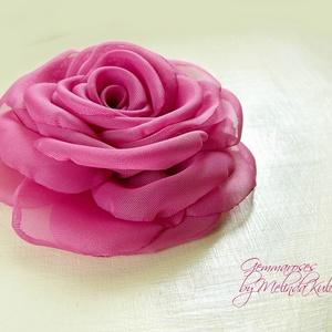 Pink rózsa - Magenta rózsa (gemma) - Meska.hu
