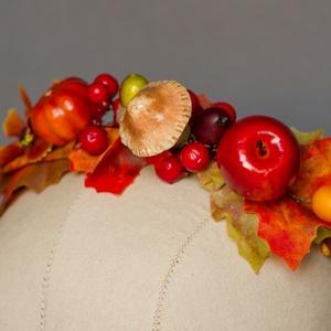 Őszi virágkoszorú III. , Gyerek & játék, Mindenmás, Kismama- és baba-mama FOTÓSOK figyelem! Elkészültek az őszi fotózási fejdíszek (elsősorban) kislányo..., Meska