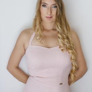Virágkoszorú- rózsaszín (gemma) - Meska.hu