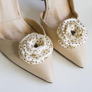 Pettyes cipőklipsz (gemma) - Meska.hu