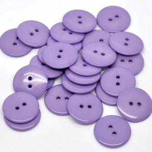 Kerek 23 mm-es levendula színű gombok vegyes színekben, Dekorációs kellékek, Gomb, Mindenmás, Varrás, Gomb, Kerek 23 mm-es lila gombok \nMérete: 23 mm\n20 db/csomag\nÁra: 440 Ft (22 Ft/db)\n\nA termék ára 27% ÁFA-..., Meska