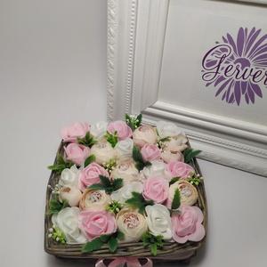 Virágok kosárkában - Meska.hu