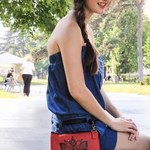 Buli táskák személyre szabva piros (bármelyik mintával) (Gigush) - Meska.hu