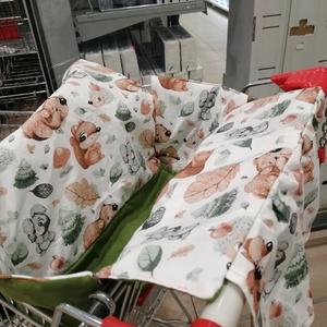 Bevásárlókocsi huzat - Bevásárló kocsihuzat - játék & gyerek - 3 éves kor alattiaknak - bevásárlókocsi huzat - Meska.hu