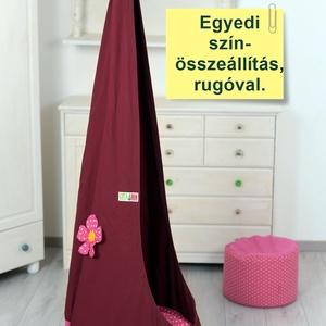 GitaMom PREMIUM csepphinta design anyaggal virággal (gita) - Meska.hu