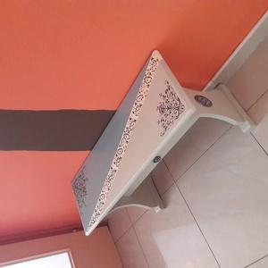 fenyő pad, vagy dohányzó asztal (Gizuskreativ) - Meska.hu