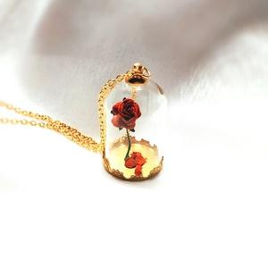 Rózsa aranyban (Glowbabe) - Meska.hu