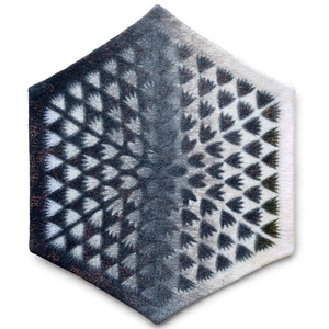 Mikrokozmosz, Nemezkép, Mérete: 104 x 88 cm., Lakberendezés, Otthon & lakás, Képzőművészet, Textil, Falikép, Nemezelés, Mikrokozmosz\nNemezelt kép\n2015\nEzt a képet egy csoportos kiállításra készítettem ami a Frederic Chop..., Meska