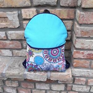 City bag, Táska & Tok, Hátizsák, Hátizsák, Különböző vásznakból készült strapabíró városi hátizsák. Dupla varrásokkal és közbéléssel megerősítv..., Meska