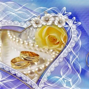 Eljegyzés / esküvő  - Goldi kártya, Dekoráció, Esküvő, Szerelmeseknek, Otthon, lakberendezés, Festett tárgyak, Örök emlék lesz ez a kis kártya , mely egy csodás nap emlékét őrzi.  A kártya készítésénél a színes..., Meska