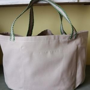 Bevásárlótáska , Táska & Tok, Bevásárlás & Shopper táska, Shopper, textiltáska, szatyor, Varrás, Sokrekeszes bevásárló táskát varrtam.Más méretben is kérhető. , Meska
