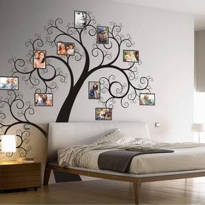 Tekergő fa saját képeiddel, falmatrica, Dekoráció, Otthon & lakás, Falmatrica, Lakberendezés, Gyerek & játék, Fotó, grafika, rajz, illusztráció, Ez a rafinált fa érdekessé teszi a otthonodat. Kevéske természet jól mutat a nappaliban, hálószobába..., Meska