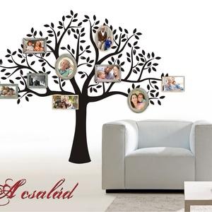 Lombos fa falmatrica, Dekoráció, Otthon & lakás, Falmatrica, Lakberendezés, Falikép, Fotó, grafika, rajz, illusztráció, A természet, növények és a virágok meglepő nyugalmat kölcsönöznek otthonodnak. Rajzunk szépsége egys..., Meska