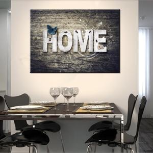 Otthon, HOME  vászonkép, Kép & Falikép, Dekoráció, Otthon & Lakás, Fotó, grafika, rajz, illusztráció, \nMit jelent az a szó, hogy otthon? Egy hely ahová hazatérsz, család, az életed... egy jól eltalált d..., Meska