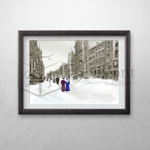 New York anno (GraFont) - Meska.hu