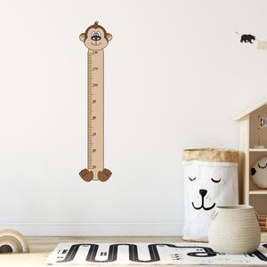 Falmatrica - Makis magasságmérő matrica, Otthon & Lakás, Dekoráció, Falmatrica & Tapéta, Fotó, grafika, rajz, illusztráció, Örökítsd meg ahogy gyermeked megállíthatatlanul cseperedik. Azon túl, hogy egy kedves dekoráció, pra..., Meska