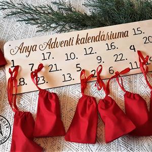 Adventi kalendárium , Karácsony, Adventi díszek, Adventi naptár, Famegmunkálás, Meska