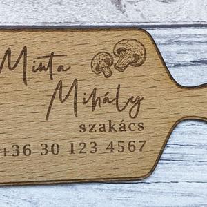 Fa névjegykártya - Meska.hu