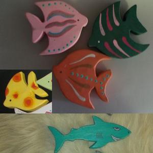 Horgászkészlet 2, Gyerek & játék, Baba-mama kellék, Gyerekszoba, Játék, Készségfejlesztő játék, Famegmunkálás, Festett tárgyak, Horgászkészlet. Gyerekjáték, készségfejlesztő, dekoráció is lehet. Faágból, madzagból, szegből horgá..., Meska