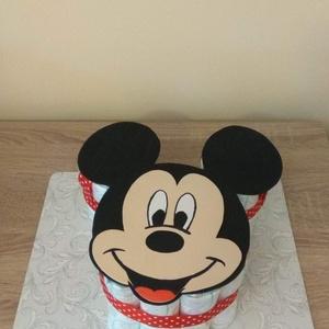 Mickey egér pelenkatorta és dekorgumi, Gyerek & játék, Baba-mama kellék, Mindenmás, Baba látogatóba készülsz vagy éppen keresztelőre? A kolléganőd babát vár? Nem tudod, hogy mit vigyél..., Meska
