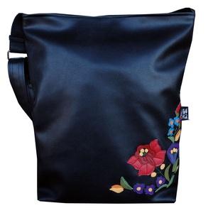 Kalocsai mintás táska (sarok mintával, szögletes) (gubolyka) - Meska.hu