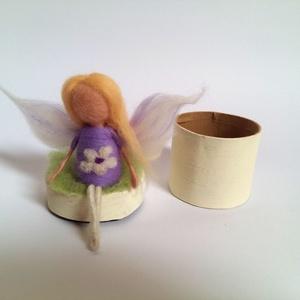 Lilla (Gyapjulelkek) - Meska.hu