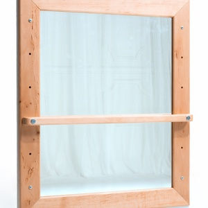 Montessori-tükör – Éger fából (gyermekpad) - Meska.hu