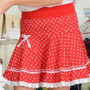 PÖRGŐS szoknya 74-104-es, pamut, tulipános pirosfestő , Táska, Divat & Szépség, Gyerekruha, Ruha, divat, Gyerek & játék, Baba (0-1év), Gyerek (1-10 év), Varrás, Hímzés, A csodaszép pörgős pirosfestő szoknya mintája hagyományos, de a szabása modern, trendi. Éppen ezért ..., Meska