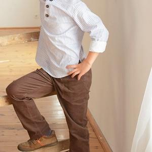 GUMIS derekú, fiú, kényelmes kord nadrág, 62-104-es, barna, két zsebbel , Táska, Divat & Szépség, Gyerekruha, Ruha, divat, Gyerek & játék, Baba (0-1év), Gyerek (1-10 év), Varrás, A fiú kordbársony nadrágunk anyaga bőrbarát: 95% pamut, 5% elasztán ( ez utóbbitól válik sztreccsé a..., Meska