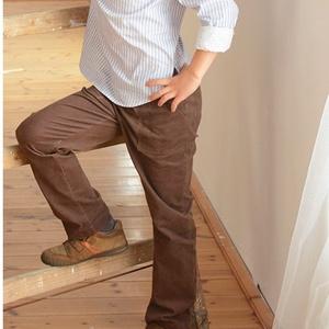 GUMIS derekú, fiú, kényelmes kord nadrág, 110-164-es, barna, két zsebbel  (gyetomi) - Meska.hu