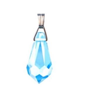 Swarovski kristály medál -13mm-es csepp  több színben , Ékszer, Medál, Nyaklánc, Ékszerkészítés, Gyöngyfűzés, gyöngyhímzés, Meska