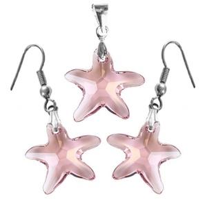Swarovski kristály 16-16 mm-es tengeri csillag szett több színben, Ékszer, Ékszerszett, Ékszerkészítés, Gyöngyfűzés, gyöngyhímzés, Meska