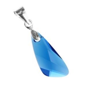 Swarovski kristály medál -23mm-es wing több színben , Ékszer, Medál, Nyaklánc, Ékszerkészítés, Gyöngyfűzés, gyöngyhímzés, Meska