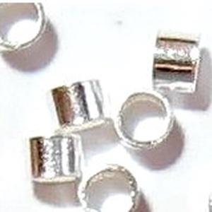925-ös 1x1mm-es   ezüst köztes / gyöngy / díszitőelem  EKÖ 19 1x1  20db/csomag - gyöngy, ékszerkellék - egyéb alkatrész - Meska.hu