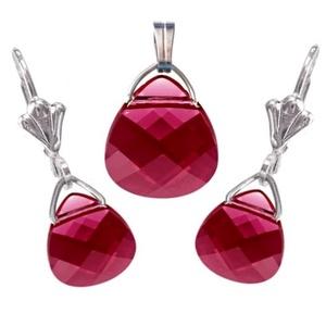 Swarovski kristály 11-15,5mm-es briolett szív szett több színben, Ékszer, Ékszerszett, Ékszerkészítés, Gyöngyfűzés, gyöngyhímzés, Meska