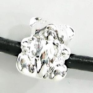 925-ös sterling ezüst medál / pandora EM-P 17, Gyöngy, ékszerkellék, Fém köztesek, Ékszerkészítés, Mindenmás, Szerelékek, EM-P 17\n\n925-ös valódi ezüst (bevizsgált) medál, pandóra lánc-karkötő készítéséhez .\n\n1 db / csomag\n..., Meska