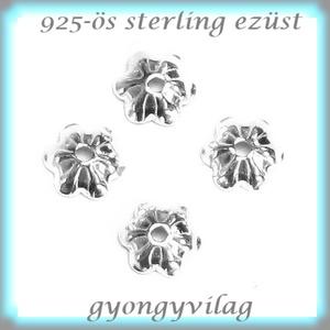 925-ös sterling ezüst gyöngykupak 3,75mm 2db EGYK 18 (gyongyvilag) - Meska.hu