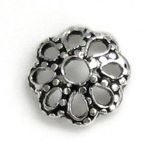 925-ös sterling ezüst gyöngykupak  2db/ csomag  EGYK 22 - Meska.hu